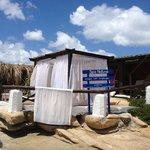 Spa de la playa, zona de masajes