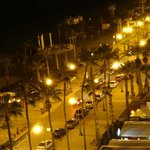 Larnaca by night -view from my room