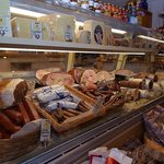 the deli case