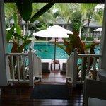 Bungalow sur piscine
