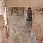 Mosaic floor in terrace houses