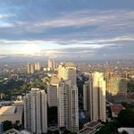 Jakarta 6am from harris hotel 43rd floor. Wicked! love the v