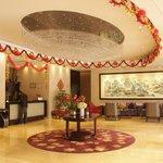 Lobby with Lunar New Year decoration
