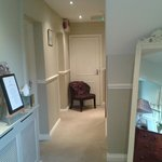 The luxurious welcome to the refurbished downstairs rooms