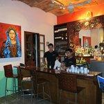 Xaltemba Restaurant Atmosphere is cozy and artsy