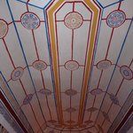 plafond d'un chambre