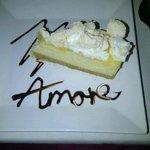 Dessert at Amore mmmmmm