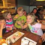 kids loved the restaurant