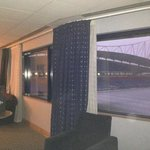 Family pitch view room - room split into 2, each with a fantastic view of the pitch