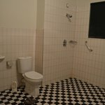 Large private shared bathroom