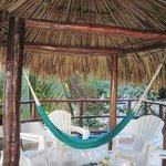 Private balcony (with hammock!) of Room #36