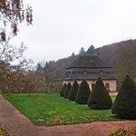 il parco intorno monastero