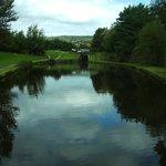 Canal Basin at Diggle.