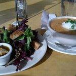Medium Soup & Little Salad