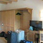 Closet area in Room