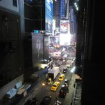 the view from our room - Time Square