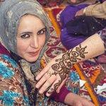 Wife gets Henna in Berber Village
