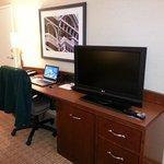 TV / Desk Area