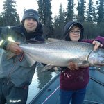 Young and old can catch nice fish with Chugach Backcountry Fishing