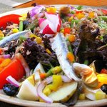 Grand choix de salades fraîcheur