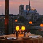 Notre Dame dal ristorante Tour d'Argent