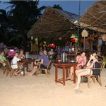 On the beach restaurant of Nissan Hotel