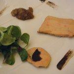 rillette de foie gras et chutney