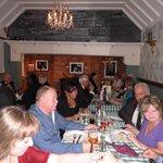 Diners enjoying Cabaret night