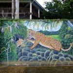 River Dock Mural