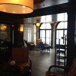 Cozy lobby!