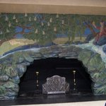 Rookwood fireplace