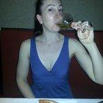 Me & wine & pizza