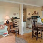 Ginny's Cottage 2 is a one bed room cottage with views of the harbor