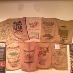 Another coffe bag display