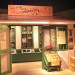 Old fashioned Florida orange juice store