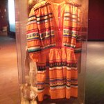 Clothing from one of the ethnic groups that make up Tampa history