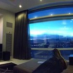 not a bad view from the lounge!!