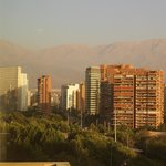 views towards some of the Andes