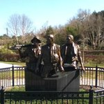 Three Soldier Vietnam Memorial