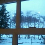beautiful view from our bedroom window (room4)