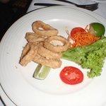 Seafood Restaurant, calmari starter