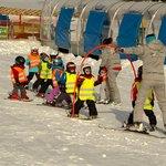 Ski school for kids