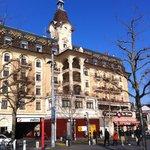 Hôtel Aulac à Lausanne Ouchy