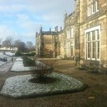 Lovely wintery morning at Mar Hall