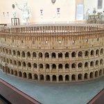A Colosseum model