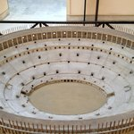 The inside of the Colosseum model