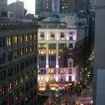 View of Macy's from the roof terrace