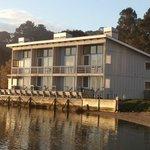 Bayside rooms facing Tomales Bay
