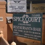 Spice Court Sign - out on Jacob Road