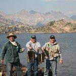 Fishing at Aero Lakes